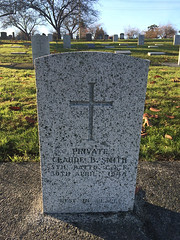 Headstone - Claude Biggar Smith