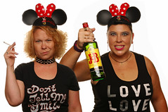 Bad Influence (Studio d'Xavier) Tags: badinfluence mousekateers mickeymouseclub portrait strobist 365outtake