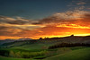 Waitaki Sunset (Kevin_Jeffries) Tags: nikon nikkor d7100 kevinjeffries newzealand waitaki spring green rural hills farm sunset