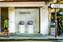 PRÉCÉDÉE (Kai-Ming :-))) Tags: artspace kaiming kmwhk mongkok hongkong reflection crtmonitor led board showwindow artwork