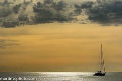Barco en Formentera, España. (martinscphoto) Tags: barco formentera españa mediterraneo atardecer dorado