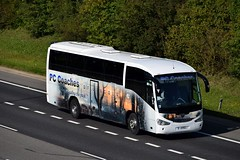 J1 PCC (markkirk85) Tags: bus buses coach coaches ex yn08dge scania k340eb4 irizar century pc new classic annfield plain 32008 8081 yn08 dge j1 pcc j1pcc