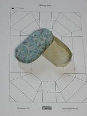 Oblong box CP (Mélisande*) Tags: mélisande origami box oblong rectangle
