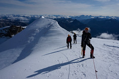 _DSC3093 (farix.) Tags: alpen alps alpy schweiz switzerland szwajcaria trekking treking grat grań piz palu bernina berninagruppe gletscher lodowiec śnieg snow schnee