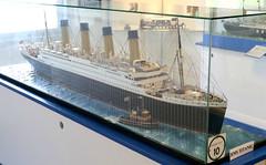 A model of the RMS Titanic at Springeren Maritimt oplevelsescenter, 16. september 2017. Foto: Per Ryolf (perryolf) Tags: fotoperryolf aalborg springerenmaritimtoplevelsescenter ubåd mtb torpedobåd ship ships schiff schiffe skibe skib marinemuseum