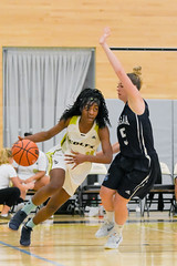 Women's Basketball vs. Niagara-41 (centennial_colts) Tags: green scream toronto ontario ocaa ocaacentennialcolts occcr basketball womens varsity ova preseason college colts centennialcolts