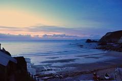 Dusk over the ocean (charlottehbest) Tags: charlottehbest june summer england uk wedding marriage cornwall coastal celebration mrmrs