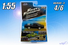 1-55_Fast_Furious_Jada_W3_Dodge_Charger (Sigi D) Tags: diecast fast furious fastfurious moviecar sigid 155 jada toys jadatoys dominic toretto dodge charger