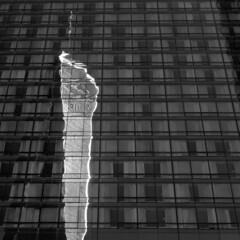 One World Trade Center reflected (Richard-) Tags: newyork freedomtower worldtradecenter