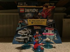 LEGO Dimensions Marty McFly, DeLorean and Hoverboard (splinky9000) Tags: kingston ontario lego dimensions minifigures toys level pack back to the future marty mcfly delorean time machine overboard vehicles colin clark my happy 18th birthday presents 92217 september 22nd 2017 guitar