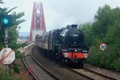 FBSB3-28 Entering Dalmeny,Black Five 44871 (timonrose1) Tags: black5 stanierblack5 dalmeny forthrailwaybridge steam