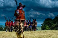 English Civil War Reenactment (Tony Shertila) Tags: 20170722143922 chirk chirkcommunity uk wales britain castle europe nationaltrust unitedkingdom reenactment soldier civilwar musket gbr