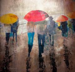 Dežnik .. (Dare2drm) Tags: dežnik parapluie umbrella rain pluie djfotos watercolour texture christianhetzel arthetart
