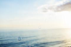 Bubbles in the sunset (JosefineKphotography) Tags: öland bubbles bokeh liquidbokeh beyondbokeh sweden ocean hav water canoneos5dmarkiii canonef50mmf14 f14 ef14 ef50mm 50mm