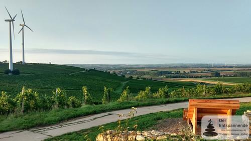 Blick auf das Selztal - SunriseRun über dem Selztal