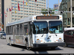 Winnipeg Transit #521 (vb5215's Transportation Gallery) Tags: winnipeg transit 2002 new flyer d40lf