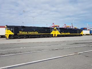 Watco Australia Fremantle Port Shuttle.