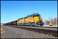 UP 1823 (golden_state_rails) Tags: up union pacific sd40n sd402 emd sinclair wy wyoming overland route local