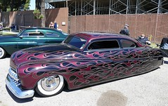 Merc FatBoy Customs (bballchico) Tags: mercury merc fatboy custom chopped 1951 westcoastkustomscruisinnationals carshow