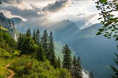 Weather is change... life is change.. (Rolf Enderes) Tags: 2017 berge europa landschaftsfotografie mountains nebel sg schweiz sonne staubern switzerland fog mist