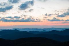 Blue Ridge August Sunrise (joehoeper) Tags: avl westernnorthcarolina nationalforest appalachianmountains pisgahnationalforest brevard northcarolina 828 naturephotography blueridgemountains blueridgeparkway