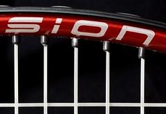Tennis Racquet (Zoo Human) Tags: macromondays stayinghealthy macro sport tennis red