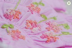 Handmade Embroidered Dresses (Ylang Garden) Tags: handmade embroidery embroidered dress latiyellow