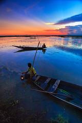 harmony (riasat rakin) Tags: bangladesh sylhet shunamganj boat boatman travel landscape