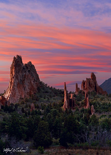 Spring Twilight - Garden Of The Gods_MG_0870_0872