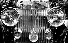 vintage rolls royce (Kevin 'Sweeney' Todd) Tags: vin tage rolls royce mono