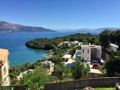 Looking towards the Eva Palace hotel, Corfu (colin9007) Tags: corfu kerkira greece hellas