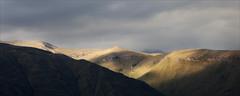 Dappled Light (kate willmer) Tags: light shadow mountain sunlight clouds hills mountains colcacanyon peru