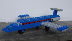 Classic Jet 657 from 1974 (captain_joe) Tags: toy 365toyproject spielzeug lego 657 classic vintage flugzeug airplane