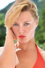 Caroline (patdebaz) Tags: femme blonde portrait portraiture sexy glamour blue eye nikon d800
