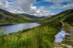 Loch Turret (daedmike) Tags: lochturret scotland glenturret glen cairngorms clouds loch water puddle reflection shadows corrie hills hillwalking resevoir