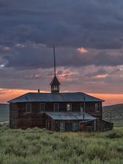 P8263980 (whyworry2010) Tags: bodie statepark california dusk sunset ruins shacks mining