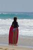 Assessing the Waves (Kevin MG) Tags: beach zuma bikini boogieboard zumabeach malibu losangeles water surf sand ocean girl girls young youth cute pretty little adolescent preteen preteens