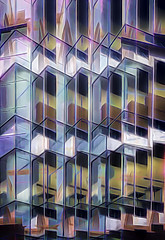 Stained Glass (beelzebub2011) Tags: canada britishcolumbia vancouver abstract multipleexposure icm