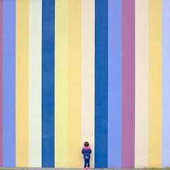 Stripes (Manuel Buetti (All images Copr.)) Tags: childhood color fujifilm colors square fujinon minimalism manuelbuetti stripes creative squareformat art fuji child