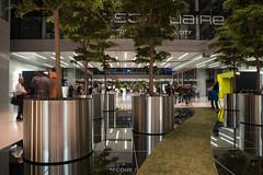 2017 Blumenkübel im The Squaire Frankfurt Airport (mercatormovens) Tags: fug thesquaire frankfurt airport flughafen frankfurtammain city stadtlandschaften architektur verkehr blumenkübel edelstahl