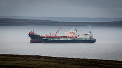 Almost Complete (MBDGE 1Million+Views) Tags: orkney scapaflow sts ship crude oil transfer tanker boat shipping port harbour