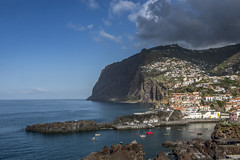 Cabo Girao, Madeira (jen.ivana) Tags: cliff madeira ocean house view port boat day summer daylight sky cloud blue