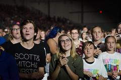 Ohio State Fair (i35photography) Tags: audience audienceshots celeste celestecenter concert crowd crowds lights osf ohio ohiostatefair pentatonix people performance preparation stage