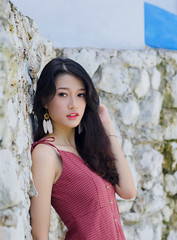 DSC03644 (anhpossible) Tags: portrait people beauty young girl cute carl zeiss sony a7 cy vintagelens manual focus mf fashion model