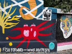 Graffiti - Bucharest, Romania (ashabot) Tags: romania travel traveldiaries 2017 streetscenes seetheworld street graffiti colorful color