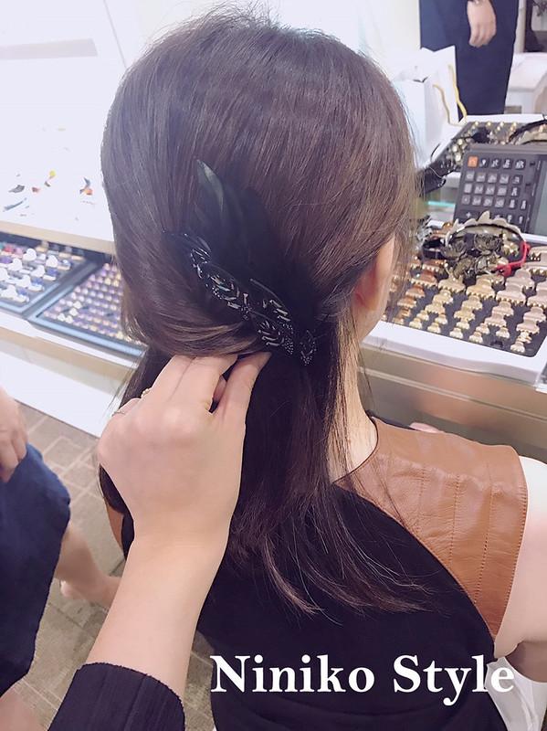 頭髮,髮型,課程,教學,新娘,設計,教課,2017,台中,新光三越,專櫃,髮飾,飾品,髮夾