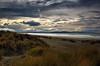Looking Out (Kevin_Jeffries) Tags: coastal newzealand nikon nikkor kevinjeffries d7100 clouds dunes surf sand nature water east coast southisland canterbury light