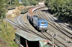 MAS MADERA (Andreu Anguera) Tags: ferrocarril trendecarga comsa locomotora335 vossloh euro4000 maderagallega ferrol portugal asusana acoruña andreuanguera