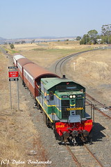 Junctions (Dylan B`) Tags: qr qgr queensland queenslandrail qld picturesque southern sdsr scenic downs steam railway rail railroad railways darling drone dji dh diesel historical heritage historic locomotive loco engine trains tracks passenger toowoomba sunny