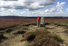35 of 52 trig points (Ron Layters) Tags: 2017 ronlayters selfportrait 52trigpoints outeredge trigpoint peaterosion howdenedge howdenmoors heather peat brash moor erodedbase pillar tp5253 fbs1771 moorland landscape remote peakdistrict peakdistrictnationalpark bradfield yorkshire southyorkshire england unitedkingdom 52weeks 52 phonecamera iphone apple appleiphone6 selftimer tripod 10secondtimer weekthirtyfive week35 35 5k 10k explore interesting highestpositioninexplore84onmondayseptember42017 2k explored
